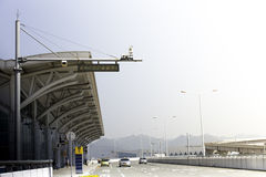 Airport building. With a clear background Royalty Free Stock Images