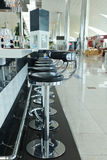 Airport cafe Stock Images