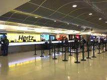 Airport car rental Royalty Free Stock Photo