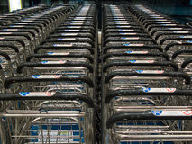 Airport carts Stock Image