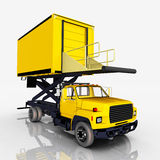 Airport catering truck Stock Photography