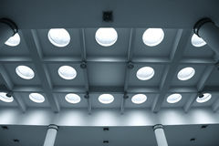 Airport ceiling Royalty Free Stock Photography