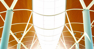 Airport ceiling Royalty Free Stock Images