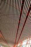 airport ceiling structure stock photo