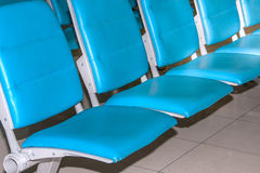 Airport chair. Royalty Free Stock Images