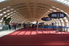 Airport Charles de Gaulle. Stock Image