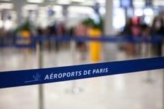 Airport Charles de Gaulle - Paris Royalty Free Stock Photo