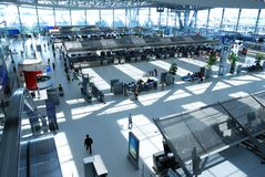 Airport check-in Stock Photography