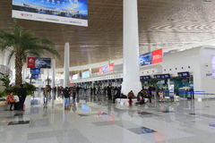 Airport Checked baggage office of t4 terminal, amoy city, china Stock Image