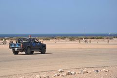 The airport in the city of Berbera Royalty Free Stock Photos