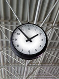 Airport Clock Royalty Free Stock Photo