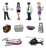 Airport collection Royalty Free Stock Photography