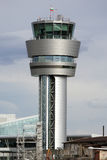 Airport communication tower Royalty Free Stock Photos