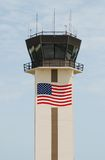 Airport communications tower Stock Photos