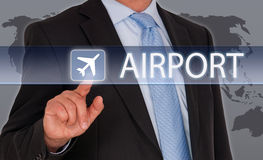 Airport concept Royalty Free Stock Image