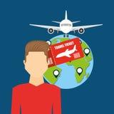 Airport concept design. Illustration eps10 graphic Stock Photos