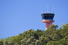 Airport Control Tower. Stock Photos