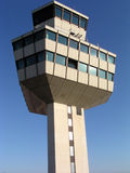 Airport control tower. Airport air traffic control tower Stock Photography