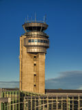 Airport control tower. Montreal Pierre Eliot Trudeau Airport control tower Royalty Free Stock Photography