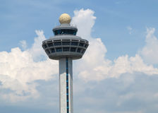 Airport Control Tower Stock Photo