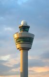 Airport control tower. In Amsterdam (Schiphol stock photos