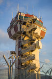Airport control tower Stock Image
