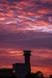 Airport control tower Royalty Free Stock Photo