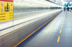 Airport conveyor belt Stock Image