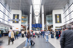 Airport. COPENHAGEN, DENMARK - JULY 1: Lufthavnen Airport on July 1, 2014 in Copenhagen Stock Image