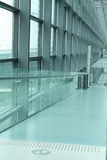 Airport corridor Royalty Free Stock Image