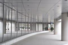 Airport corridor Royalty Free Stock Photography