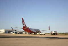 Airport Costa Smeralda in Olbia. Sardinia. Italy Stock Image