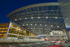 Airport Covered Walkway to Public Parking 2 Stock Photography