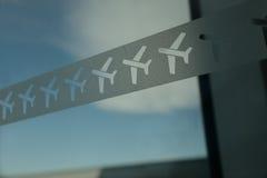 Airport decor Stock Photography