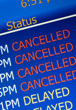 Airport delay royalty free stock images