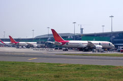 Airport in Delhi Stock Photos