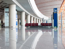 Airport Departure Area Royalty Free Stock Photography