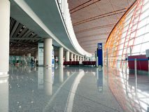 Airport Departure Area Stock Image