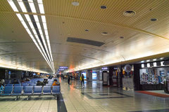 Airport Departure Hall Stock Image