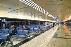 Airport Departure Hall Stock Images