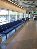 Airport departure lounge 03 Stock Images