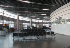 Airport departures lounge Stock Image