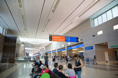 Airport directions to baggage claim Royalty Free Stock Photography