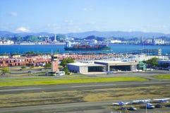 Airport and dock II Stock Photos