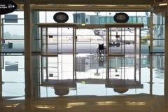 Airport doors Stock Photography