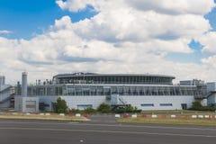 Airport Dusseldorf Stock Image