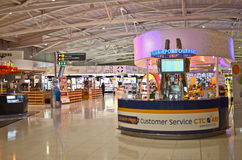 Airport duty free royalty free stock photos