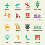 Airport elements Royalty Free Stock Photography