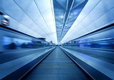 Airport Elevator. Hong Kong International Airport escalators stock photos