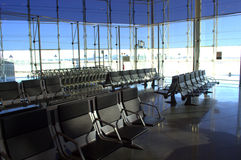 Airport empty lounge Royalty Free Stock Images